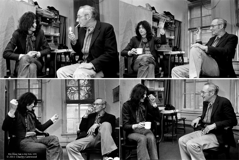 Jimmy Page and William Burroughs talking about audience control, Peru and  volume. | zicoydelia