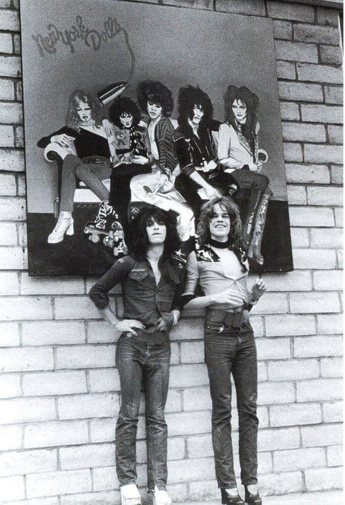 new York Dolls photographed by Bob Gruen.