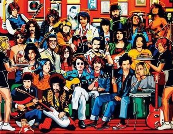 ROCK N ROLL HEAVEN CUCHO PEÑALOZA
