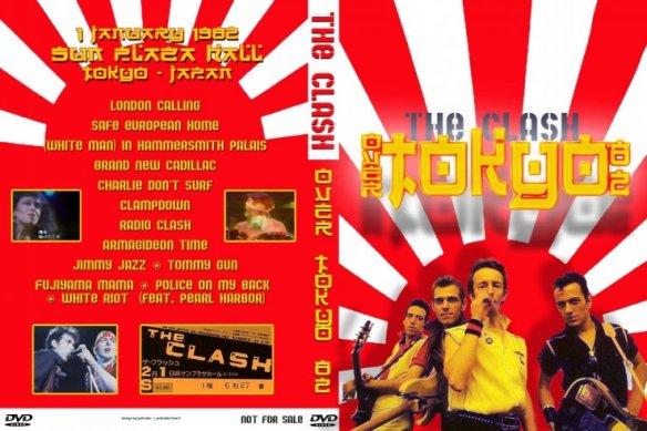 The-Clash-Tokyo-1982 cucho peñaloza